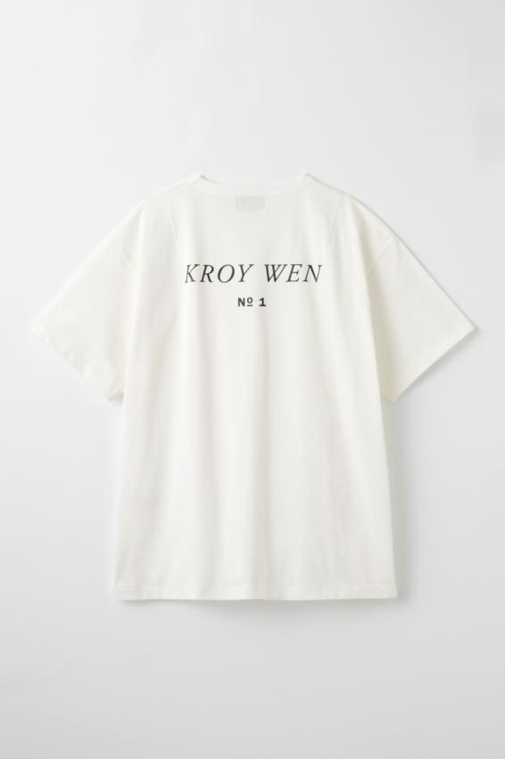 WEWILL ウィーウィル KROY WEN Back Print T-shirt 1.jpg