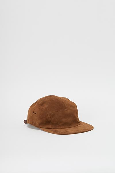 Hender Scheme エンダースキーマ water proof jet cap khaki brown.jpg