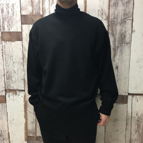 WEWILL ウィーウィル Turtle neck Sweater 2.jpg