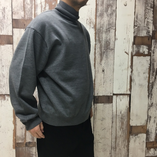WEWILL ウィーウィル Turtle neck Sweater 7.jpg