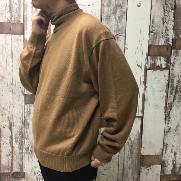 WEWILL ウィーウィル Turtle neck Sweater 8.jpg