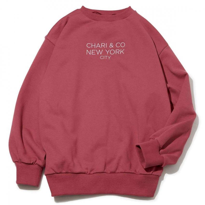 Chari&Co チャリアンドコー GOTHAM LOGO CREWNECK SWEATS 1.jpg
