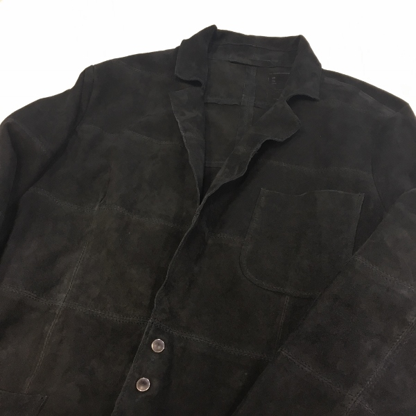 MAREA ERRE マレアエッレ Suede Jacket Snap 1.jpg