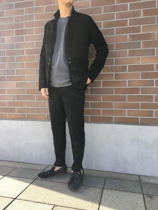 MAREA ERRE マレアエッレ Suede Jacket Snap 4.jpg