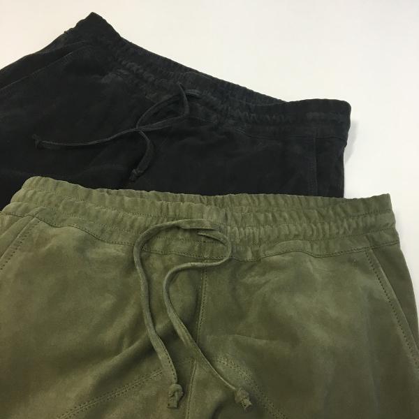 MAREA ERRE マレアエッレ Suede Long Pants 1.jpg