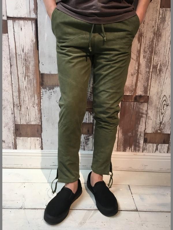 MAREA ERRE マレアエッレ Suede Long Pants 2.jpg