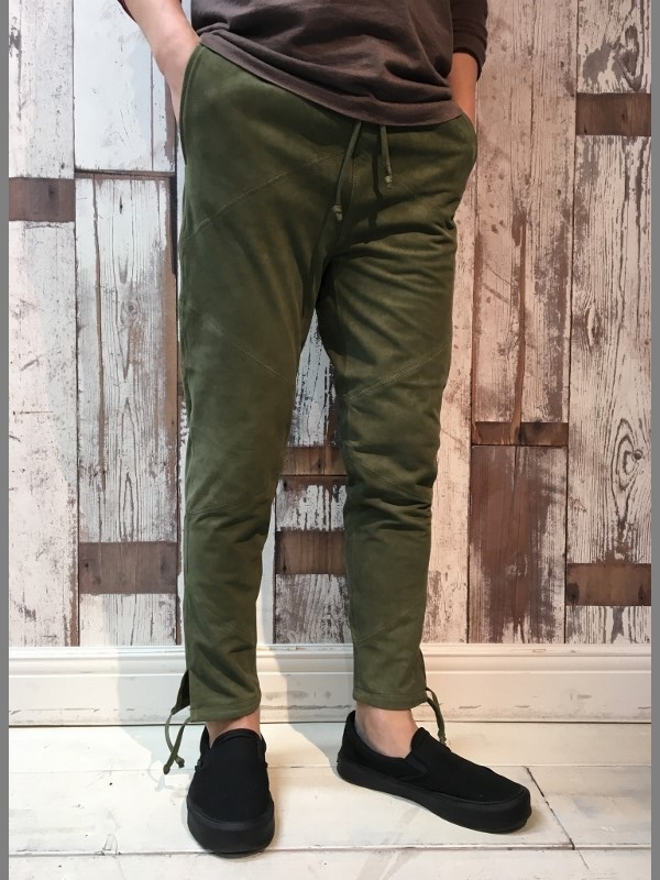 MAREA ERRE マレアエッレ Suede Long Pants 3.jpg