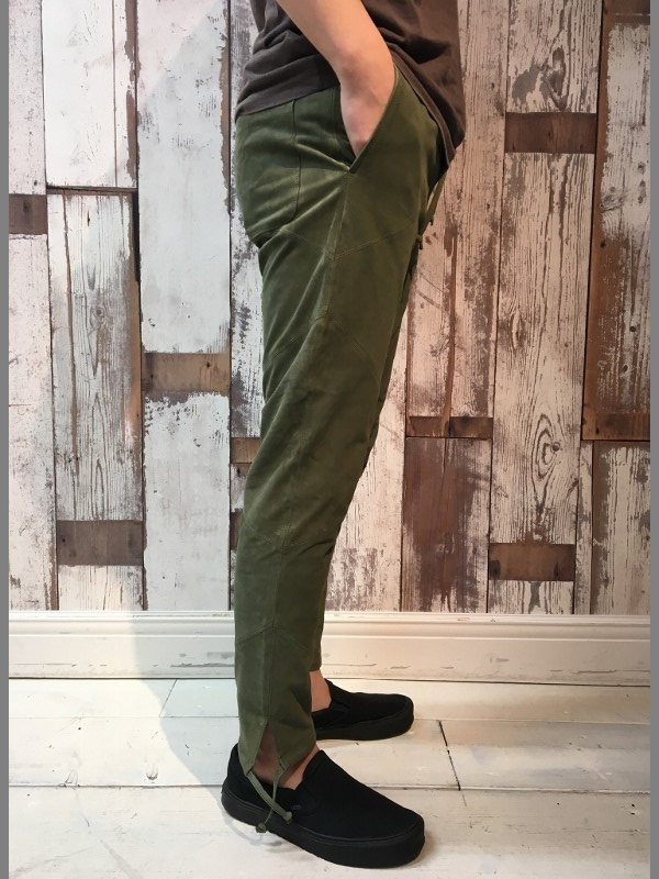 MAREA ERRE マレアエッレ Suede Long Pants 4.jpg