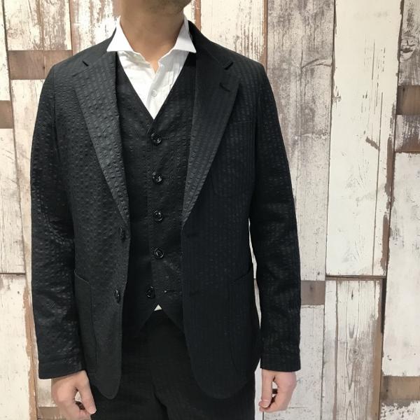 The Stylist Japan ザスタイリストジャパン Seersucker シアサッカー ジャケット 2.jpg