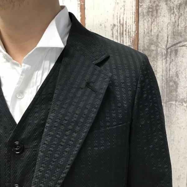 The Stylist Japan ザスタイリストジャパン Seersucker シアサッカー ジャケット 3.jpg