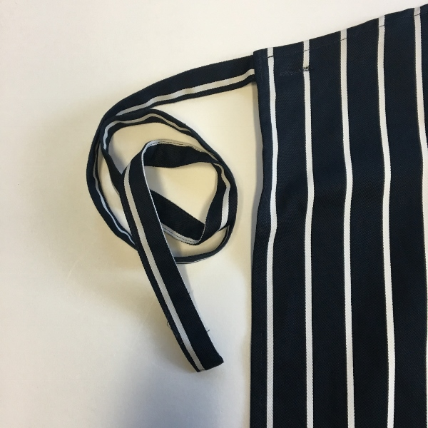 Dennys Striped Bib Apron with Pocket 4
