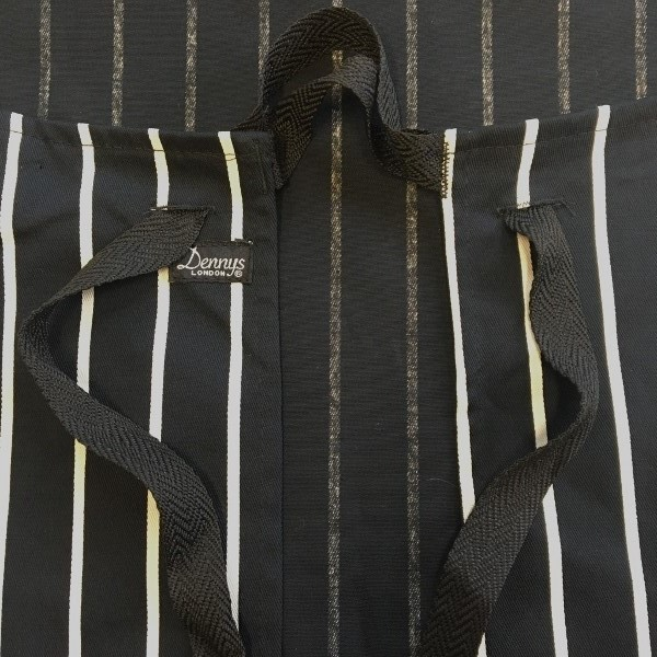 Dennys Striped Bib Apron with Adjustable Halter 4.jpg