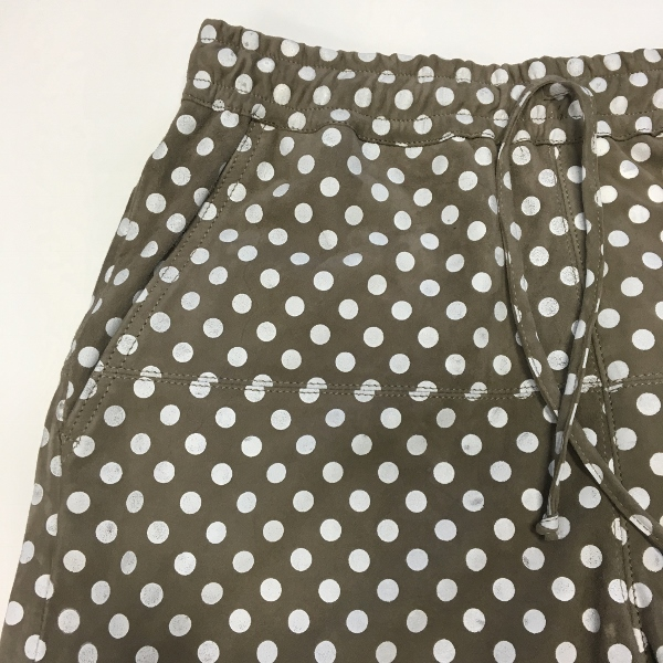 MAREA ERRE マレアエッレ SUEDE BIG DOT SHORTS 3