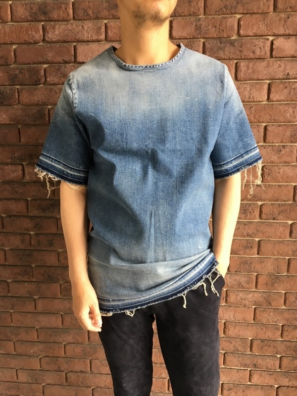 marea erre マレアエッレ DENIM T SHIRT SS 1.jpg