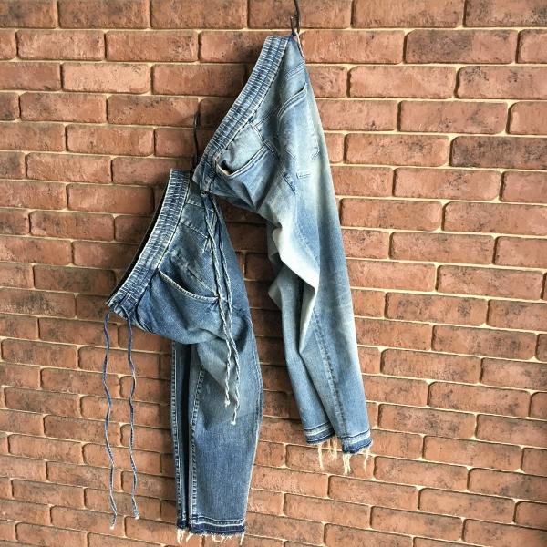 marea erre マレアエッレ DENIM Long Pants & Long Pants with string.jpg