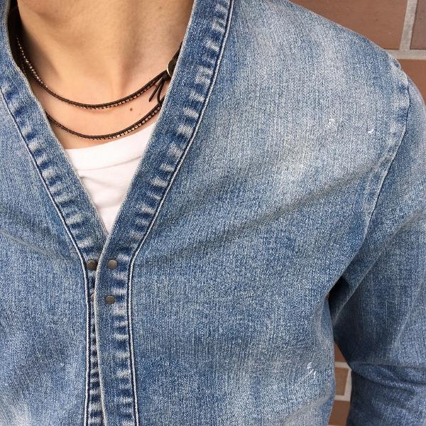 marea erre マレアエッレ DENIM No collar long gown 2.jpg