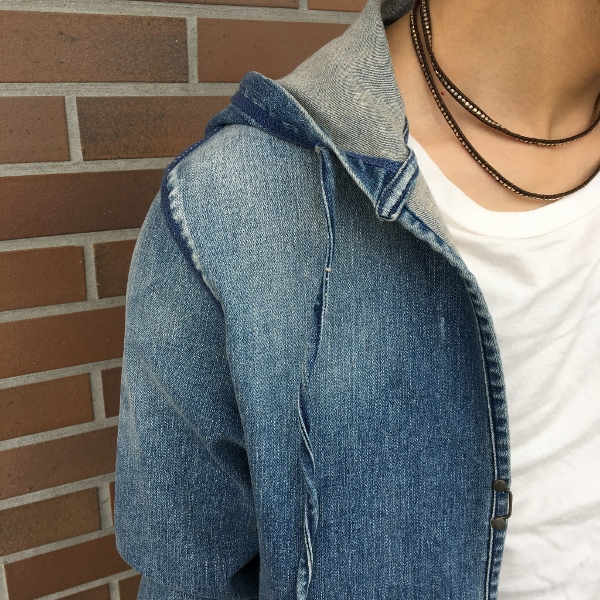 marea erre マレアエッレ DENIM ls shirt with hood 3.jpg