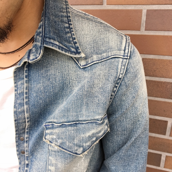 marea erre マレアエッレ DENIM ls collar shirt 2.jpg