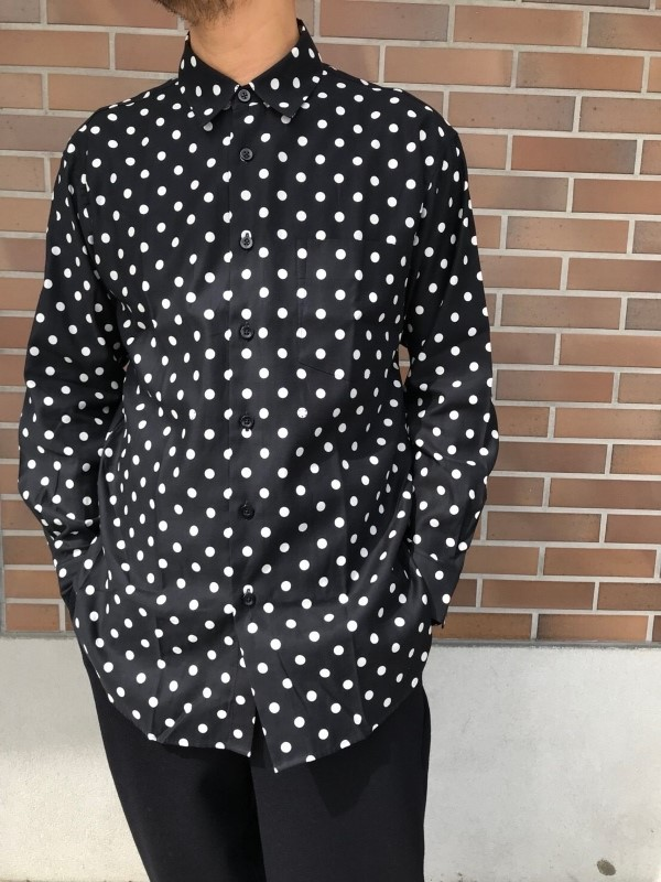 WEWILL ウィーウィル ビッグシャツ ドット 1.jpg