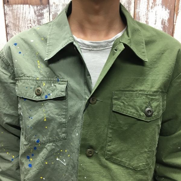 JOHN ELLIOTT ジョンエリオット Distorted Miritaly Shirt シャツ パッチワーク 3.jpg