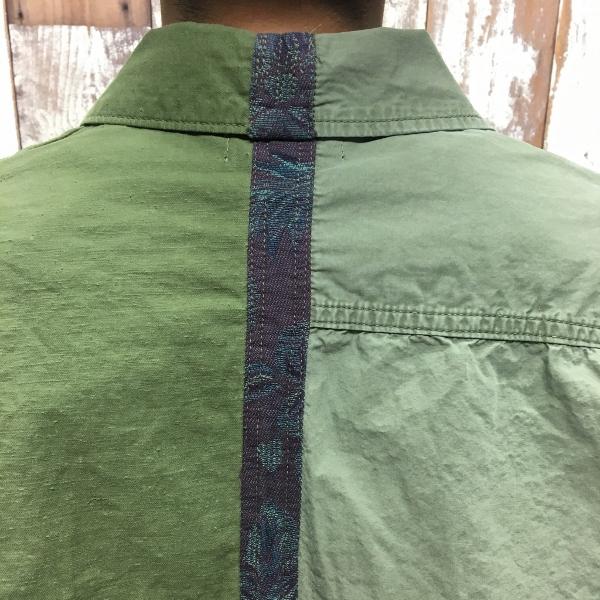 JOHN ELLIOTT ジョンエリオット Distorted Miritaly Shirt シャツ パッチワーク 5.jpg