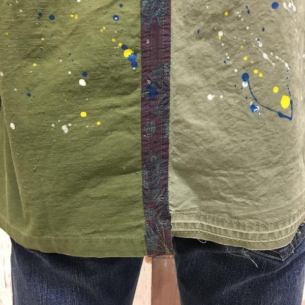JOHN ELLIOTT ジョンエリオット Distorted Miritaly Shirt シャツ パッチワーク 6.jpg