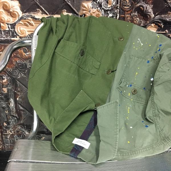 JOHN ELLIOTT ジョンエリオット Distorted Miritaly Shirt シャツ パッチワーク.jpg