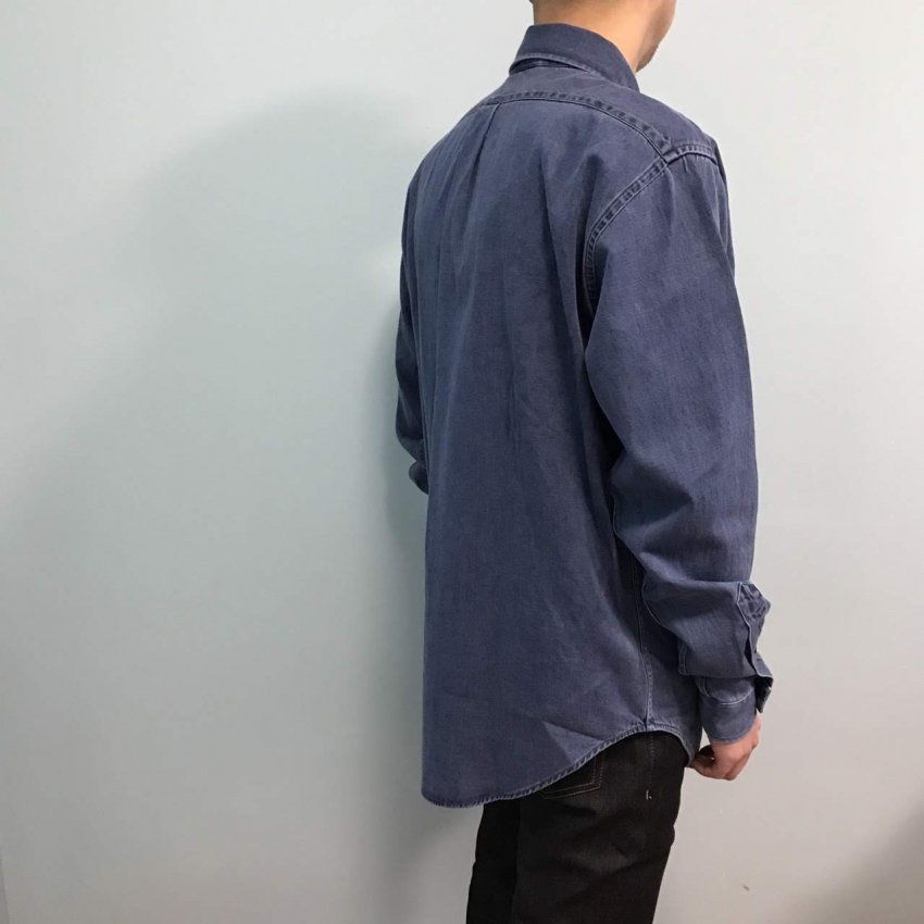 Acne Studios アクネストゥディオズ SEIJI RTW DARK BLUE WASHED DENIM 1.jpg