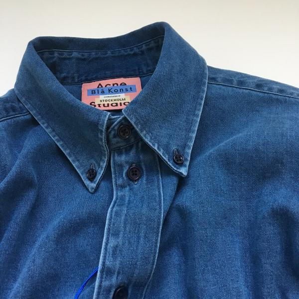 Acne Studios アクネストゥディオズ SEIJI RTW DARK BLUE WASHED DENIM.jpg