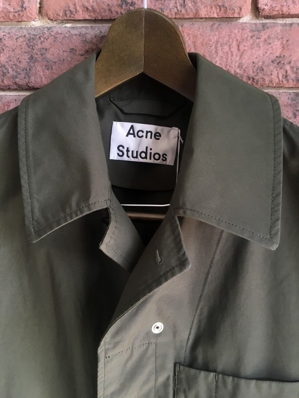 Acne Studios アクネストゥディオズ コート OREL DRY CO PO 1.jpg