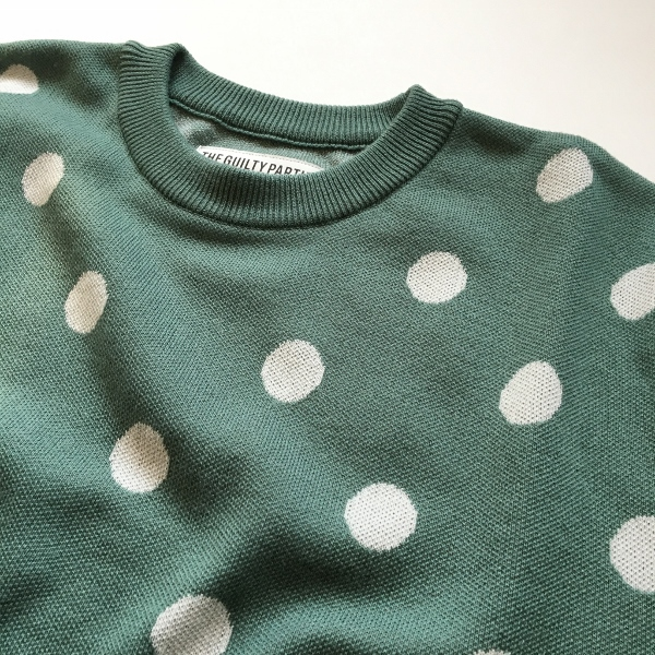 WACKOMARIA ワコマリア DOTS JACQUARD SWEATER 1.jpg