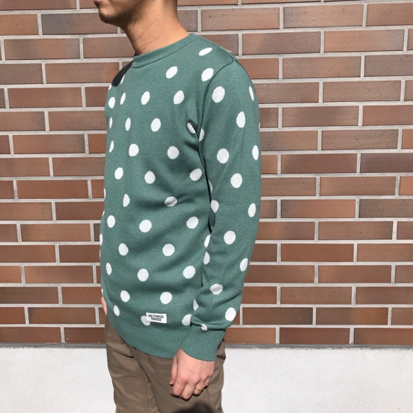 WACKOMARIA ワコマリア DOTS JACQUARD SWEATER 4.jpg
