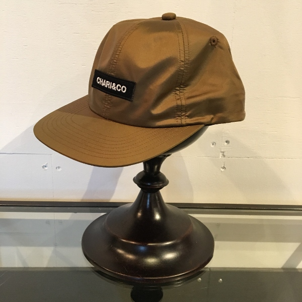 Chari&Co チャリアンドコー BOX LOGO METALLIC 6 PANEL CAP 2.jpg
