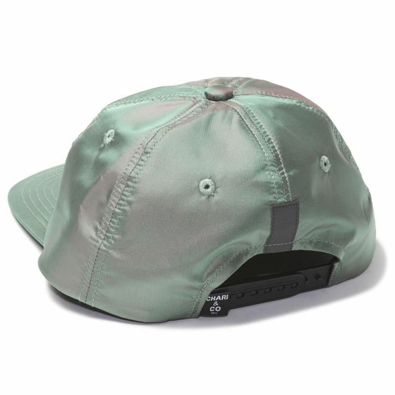 Chari&Co チャリアンドコー BOX LOGO METALLIC 6 PANEL CAP 5.jpg