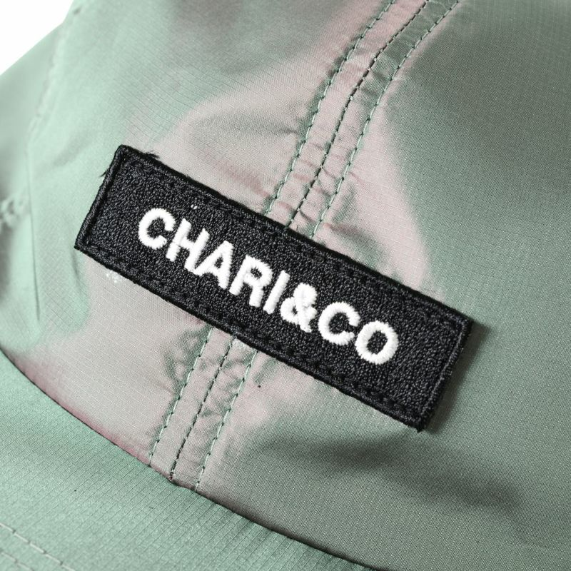 Chari&Co チャリアンドコー BOX LOGO METALLIC 6 PANEL CAP 8.jpg