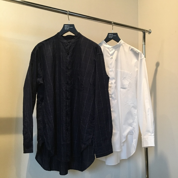 WEWILL ウィーウィル ノーカラーシャツ 4.jpg