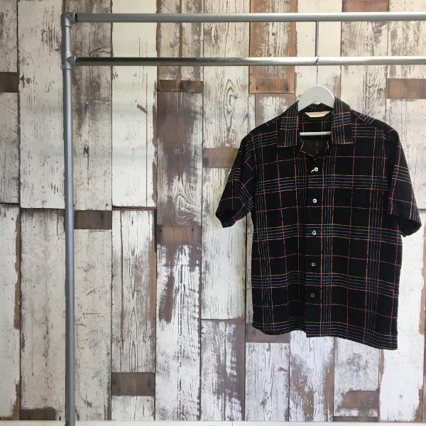 The Stylist Japan ザスタイリストジャパン オープンカラーシャツ チェック 1.jpg