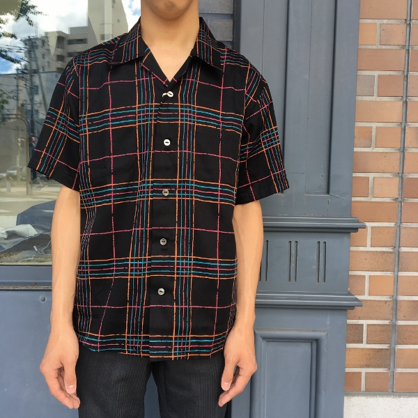 The Stylist Japan ザスタイリストジャパン オープンカラーシャツ チェック 2.jpg