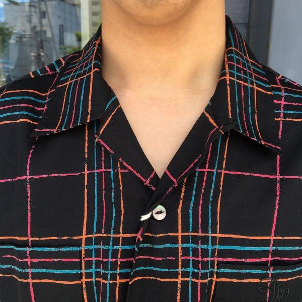 The Stylist Japan ザスタイリストジャパン オープンカラーシャツ チェック 3.jpg