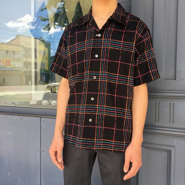 The Stylist Japan ザスタイリストジャパン オープンカラーシャツ チェック 6.jpg