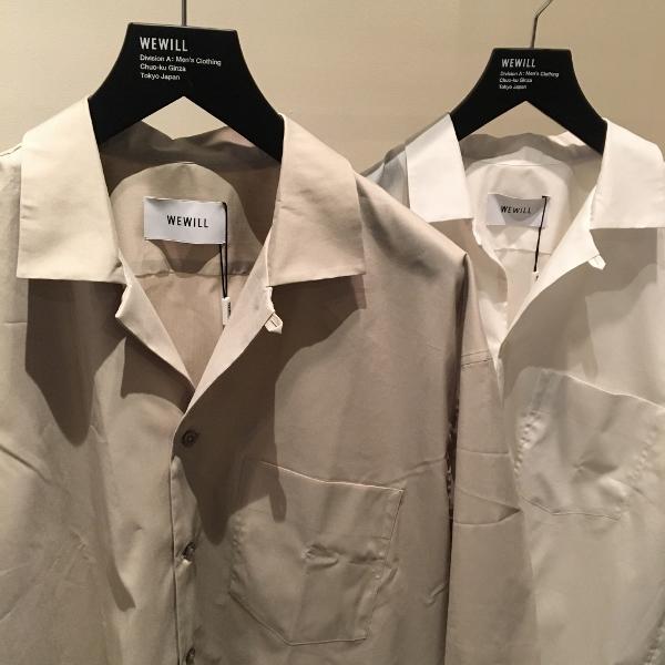 WEWILL ウィーウィル オープンカラーシャツ 1.jpg