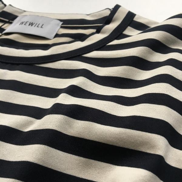WEWILL ウィーウィル ボーダーTシャツ 2.jpg