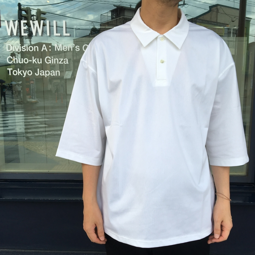 WEWILL ウィーウィル TRIC POLO ポロシャツ 2.jpg
