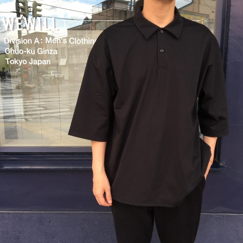 WEWILL ウィーウィル TRIC POLO ポロシャツ 3.jpg