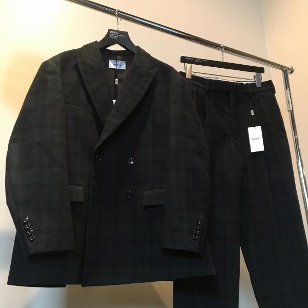 WEWILL ウィーウィル ジャケット パンツ ブラックウォッチ 1.jpg