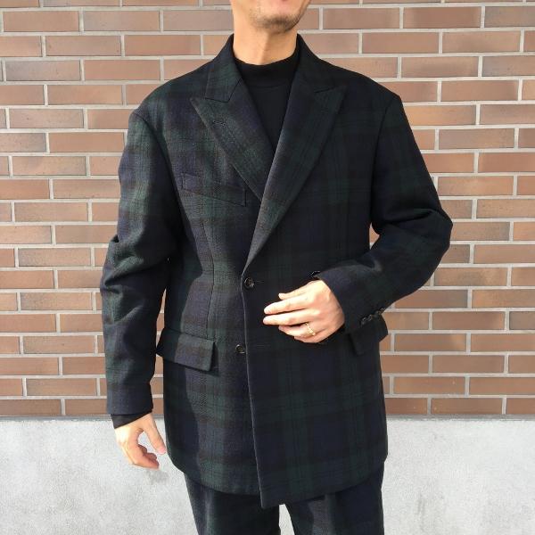 WEWILL ウィーウィル ジャケット パンツ ブラックウォッチ 2.jpg