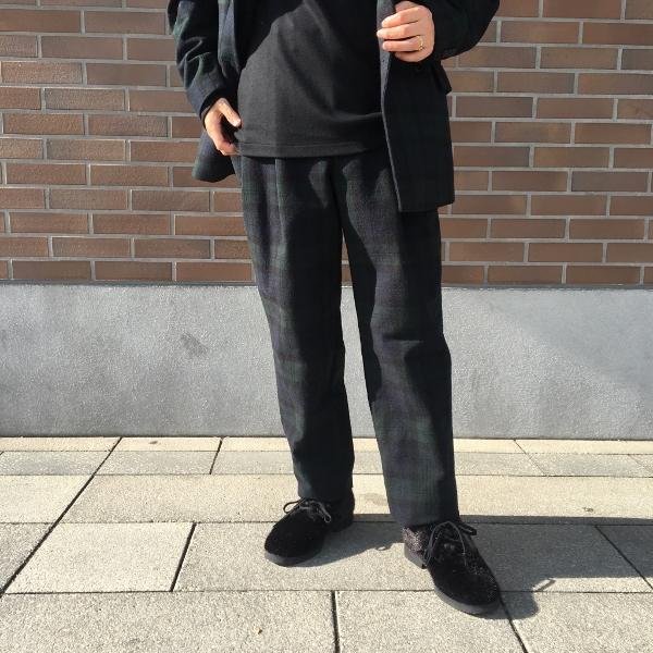 WEWILL ウィーウィル ジャケット パンツ ブラックウォッチ 5.jpg