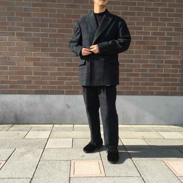 WEWILL ウィーウィル ジャケット パンツ ブラックウォッチ 7.jpg