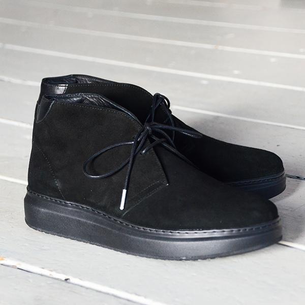 WEWILL ウィーウィル FOOTWEAR No2 ブラック 2.jpg