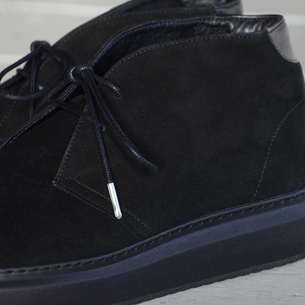 WEWILL ウィーウィル FOOTWEAR No2 ブラック 4.jpg